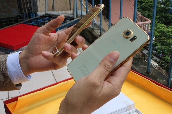 Ma vang Galaxy S6 gia 8 trieu tai Viet Nam hinh anh 5