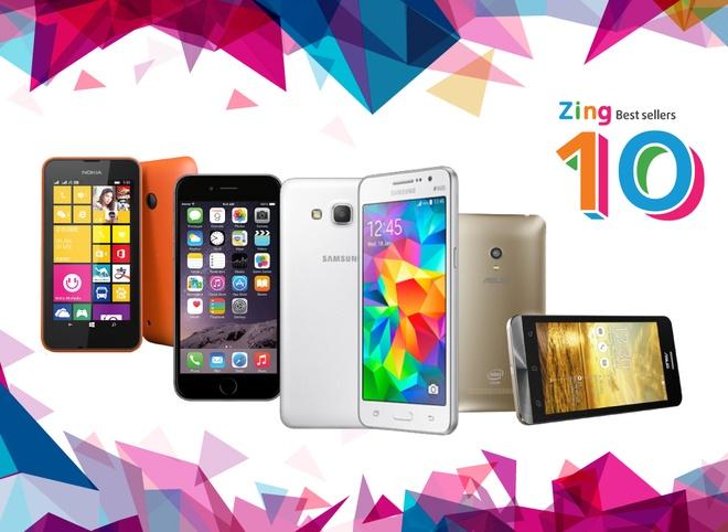 10 smartphone ban chay nhat thang 3 tai Viet Nam hinh anh