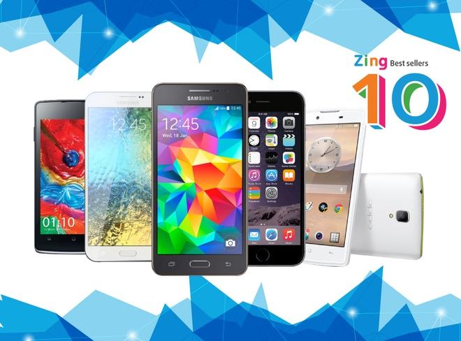 10 smartphone ban chay nhat thang 4 tai Viet Nam hinh anh