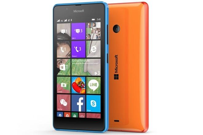 Lumia 540 chuyen selfie gia 3,5 trieu dong tai Viet Nam hinh anh