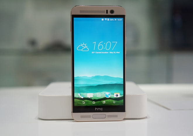 HTC One M9 Plus ve Viet Nam voi gia 15 trieu dong hinh anh