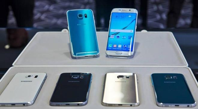 Galaxy S6 xach tay ve o at, may chinh hang loan gia hinh anh