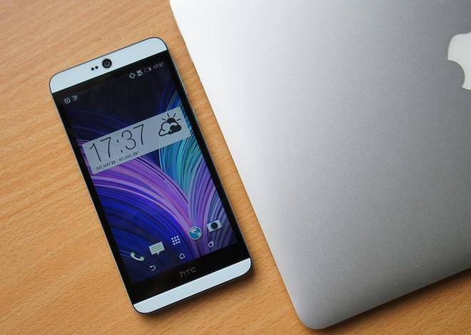 Danh gia HTC Desire 826: Dang dep, man hinh chat hinh anh