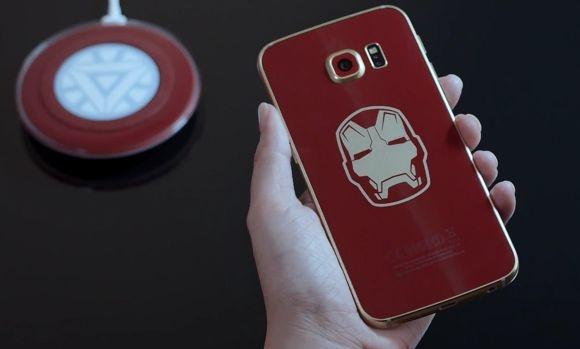 Samsung cong bo Galaxy S6 Edge ban Iron Man hinh anh