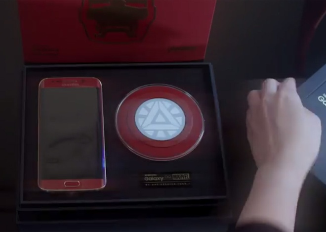 Mo hop Galaxy S6 Edge Iron Man Limited Edition hinh anh