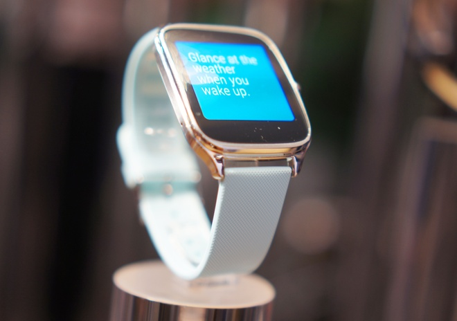 Asus thach thuc Apple Watch bang Zenwatch 2 hinh anh 1