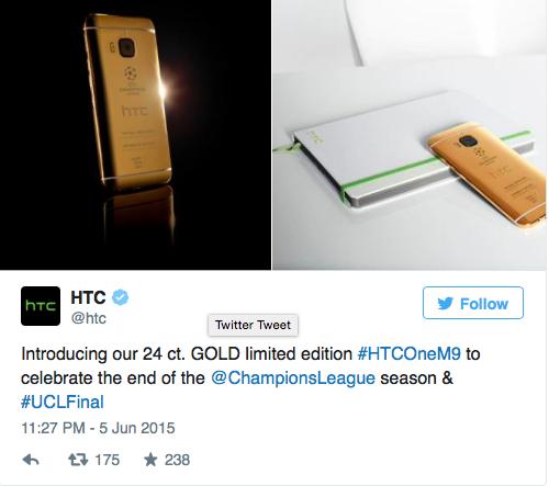 HTC dung anh chup tu iPhone gioi thieu One M9 ban doc hinh anh 2
