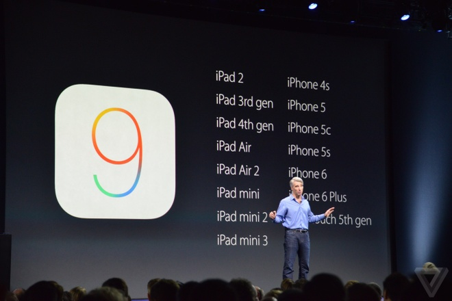 iOS 9 ra mat, ho tro ca iPhone 4S, iPad mini hinh anh