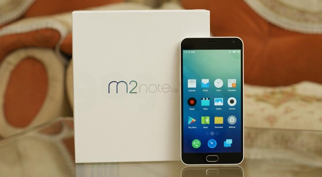 Smartphone chinh hang dau tien cua Meizu sap ve Viet Nam hinh anh