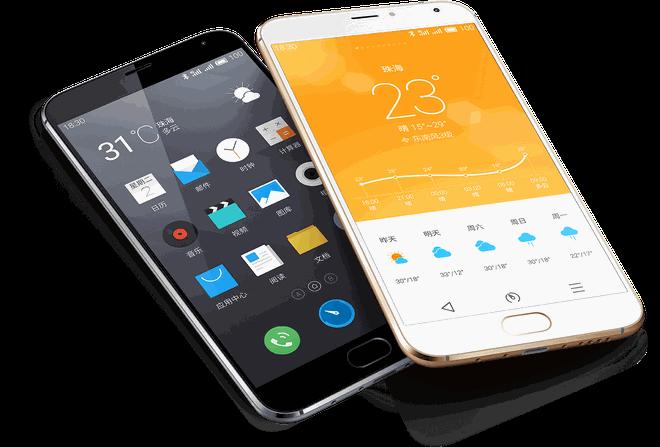 Meizu tung bom tan giong iPhone 6 Plus tung chi tiet hinh anh