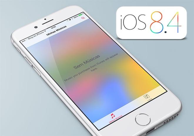 iOS 8.4 phat hanh kem Apple Music, co the jailbreak hinh anh