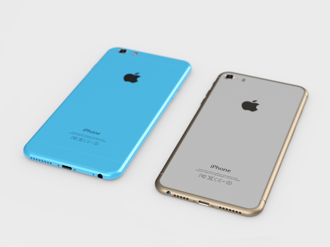 iPhone 6C gia mem co the dung vo kim loai hinh anh