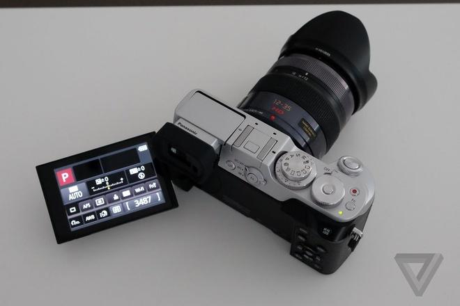 May anh mirrorless Panasonic Lumix GX8 co gia 1.200 USD hinh anh