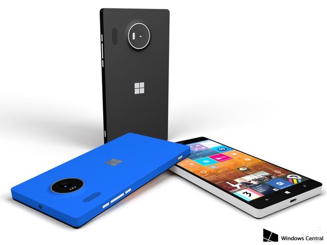 Ban dung Lumia 950 vo nhua gay that vong hinh anh