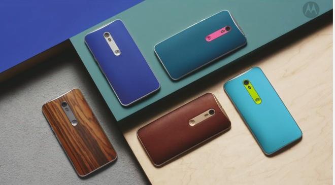 Motorola trinh lang Moto X Style, X Play va Moto G gia tot hinh anh 1