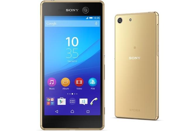 Sony ra mat Xperia C5 Ultra khong vien va M5 sieu manh hinh anh