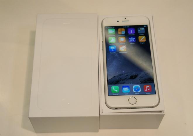 iPhone 6 van ban chay sat ngay iPhone moi ra mat hinh anh