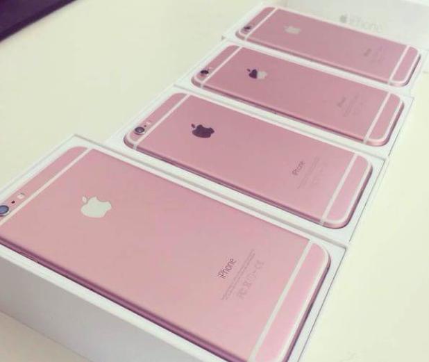 Lo anh iPhone 6S mau hong? hinh anh 1