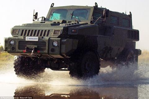 Ngam sieu xe boc thep 'khong the ngan can' pho dien suc manh hinh anh 1 Marauder đã được mô tả như một loại xe