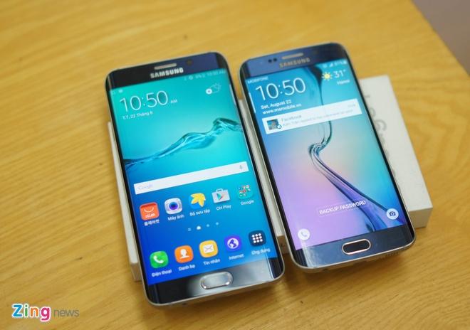 Galaxy S6 Edge+ man hinh cong ve VN voi gia gan 19 trieu hinh anh 10