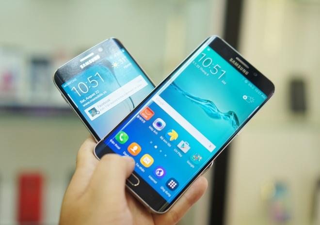Galaxy S6 Edge+ man hinh cong ve VN voi gia gan 19 trieu hinh anh