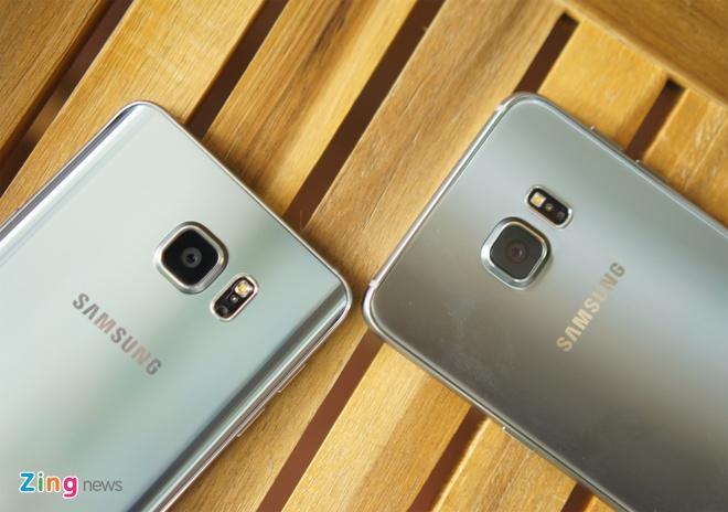 Can canh Galaxy Note 5 va S6 Edge+ mau bac tai Viet Nam hinh anh 13