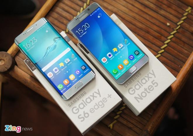 Can canh Galaxy Note 5 va S6 Edge+ mau bac tai Viet Nam hinh anh 14