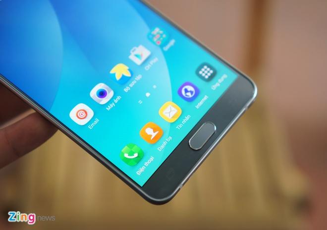Can canh Galaxy Note 5 va S6 Edge+ mau bac tai Viet Nam hinh anh 8