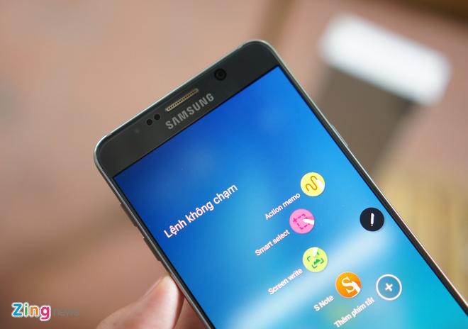 Can canh Galaxy Note 5 va S6 Edge+ mau bac tai Viet Nam hinh anh 6