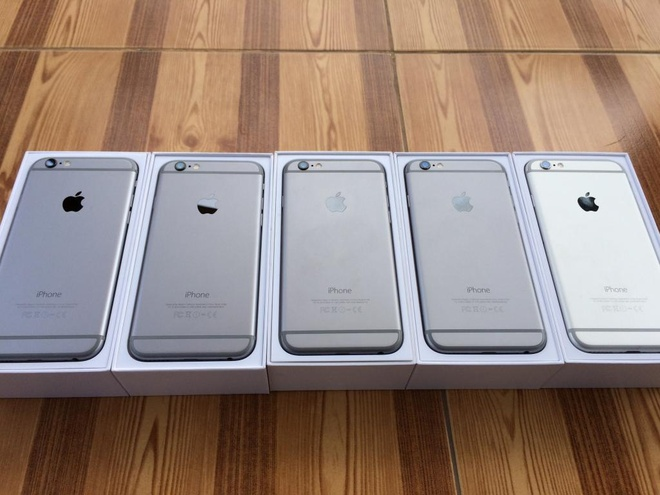 iPhone 6 Plus gia tu 1,5 den 2,8 trieu dong tai Mong Cai hinh anh