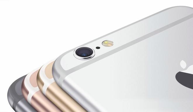 iPhone 6S van giu phien ban 16 GB, co mau vang hong hinh anh