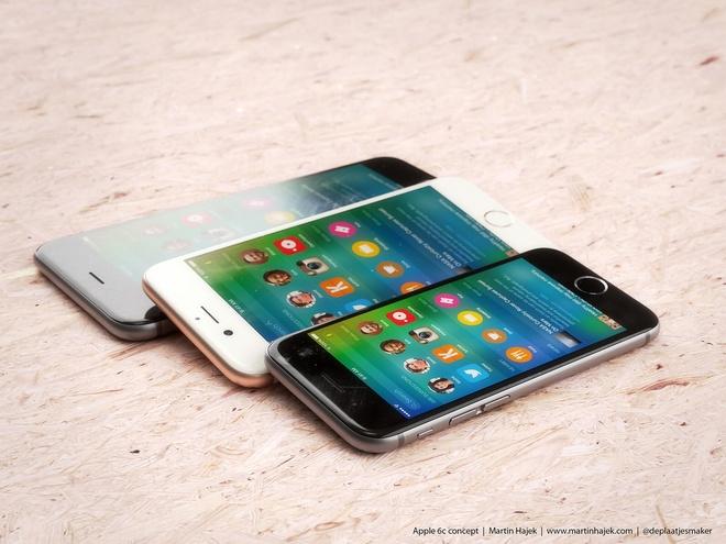 Ban dung iPhone 6C man hinh 4 inch dep long lanh hinh anh