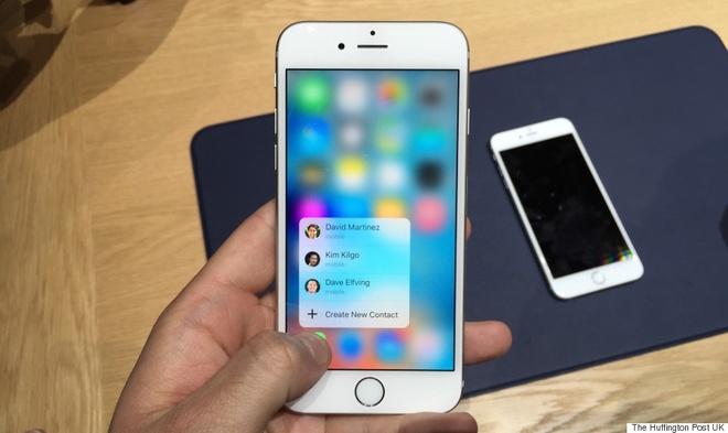 iPhone 6S ken mieng dan man hinh hinh anh 1
