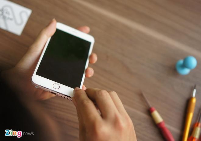 iPhone 6S Plus dau tien bi thao tung linh kien tai VN hinh anh 3
