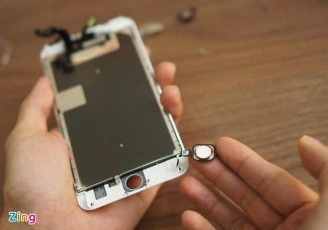 iPhone 6S Plus dau tien bi thao tung linh kien tai VN hinh anh 4