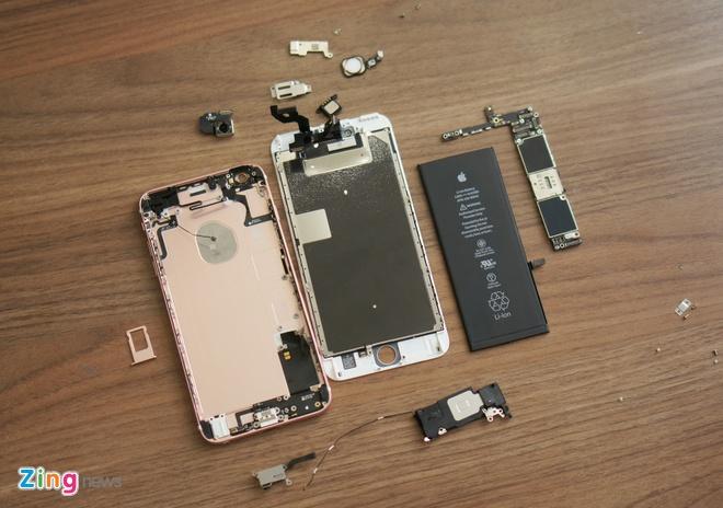iPhone 6S Plus dau tien bi thao tung linh kien tai VN hinh anh 12