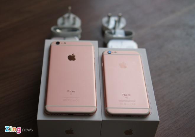 Loan gia iPhone 6S, 6S Plus mau vang hong tai Viet Nam hinh anh 11