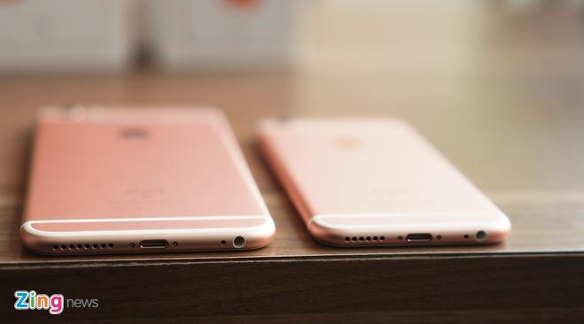 Loan gia iPhone 6S, 6S Plus mau vang hong tai Viet Nam hinh anh 8