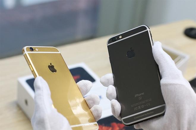 iPhone 6S ma vang den gia tu 42 trieu tai Viet Nam hinh anh 5