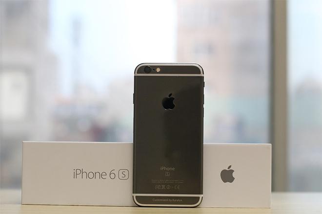 iPhone 6S ma vang den gia tu 42 trieu tai Viet Nam hinh anh