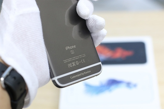 iPhone 6S ma vang den gia tu 42 trieu tai Viet Nam hinh anh 4