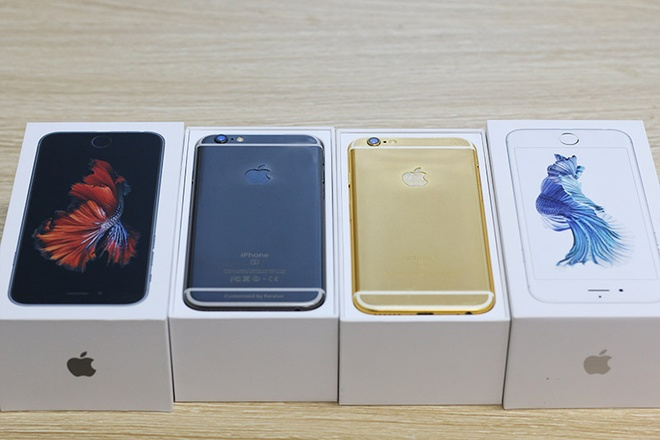iPhone 6S ma vang den gia tu 42 trieu tai Viet Nam hinh anh 11
