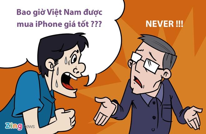 Hi hoa: Khoc, cuoi voi gia iPhone 6S tai Viet Nam hinh anh 5