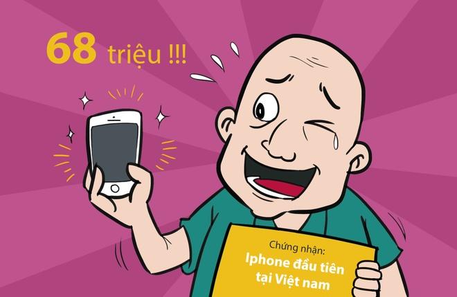Hi hoa: Khoc, cuoi voi gia iPhone 6S tai Viet Nam hinh anh