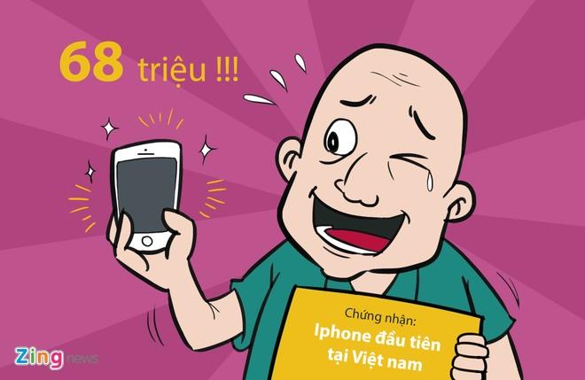 Hi hoa: Khoc, cuoi voi gia iPhone 6S tai Viet Nam hinh anh 3