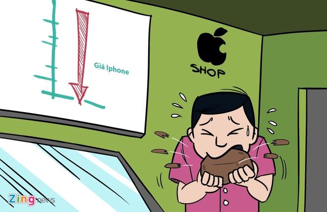 Hi hoa: Khoc, cuoi voi gia iPhone 6S tai Viet Nam hinh anh 9