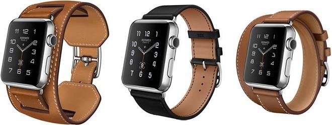 Apple Watch ban Hermes len ke voi gia tu 1.100 USD hinh anh 2 3 phiên bản dây đeo của Apple Watch.