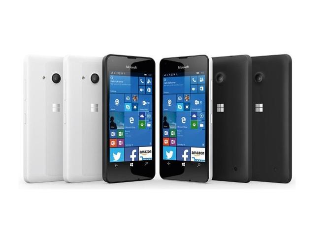 Lumia 550 chay Windows 10 ra mat voi gia 140 USD hinh anh