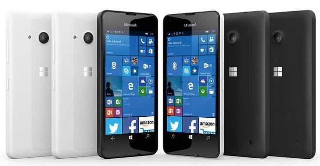 Lumia 550 chay Windows 10 ra mat voi gia 140 USD hinh anh 1