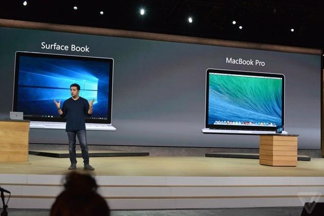 Microsoft Surface Book do cau hinh voi cac doi thu hinh anh
